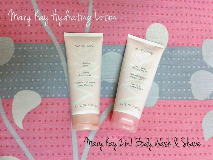 Mary Kay® 2-In-1 Body Wash + Shave & Hydrating Lotion Review