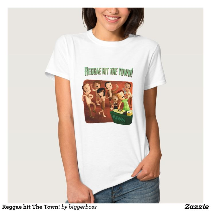 Reggae hit The Town! Tshirts