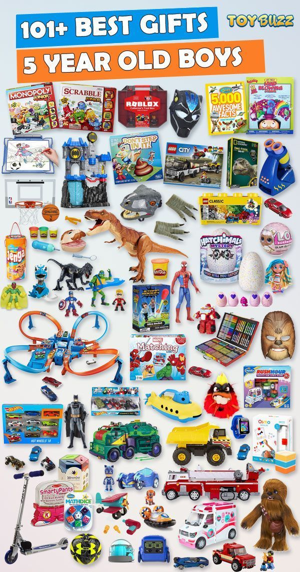 Gifts For 5 Year Old Boys 2019 - List of Best Toys ...