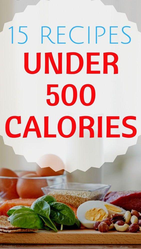 15 Healthy Recipes Under 500 Calories – Medi Idea