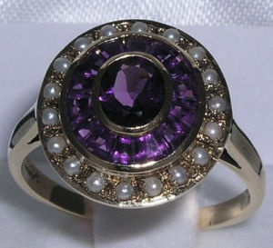 Amethyst and pearls.: Meant To Be, Sparkly Bits, Beautiful Jewelry, High Fashion, Stiles Birthstones This