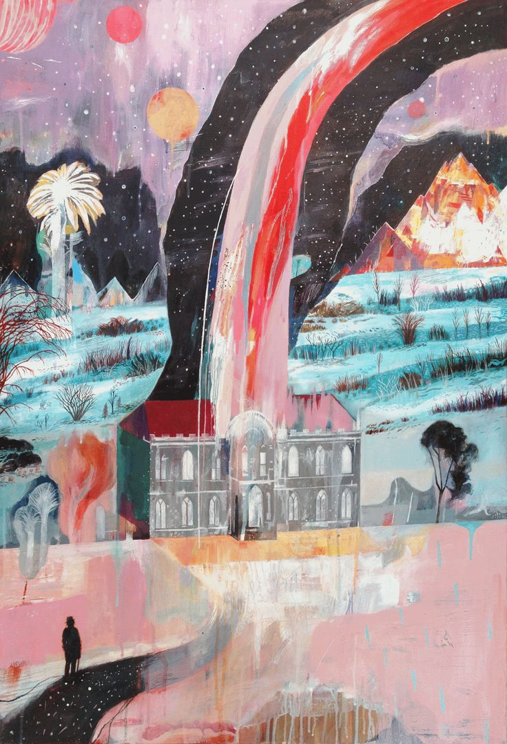 An Apparition, Hafod (In the Semi Romantic Style) Chris Hagan