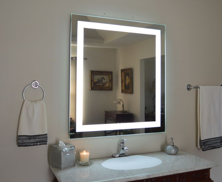 Art Exhibition Our MAM Front Lighted Mirror wide x tall