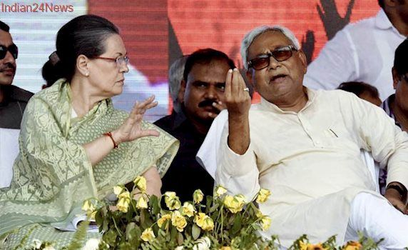 Nitish Kumar Meets Sonia Gandhi, Says 'Don't React To Modi, Set Agenda'