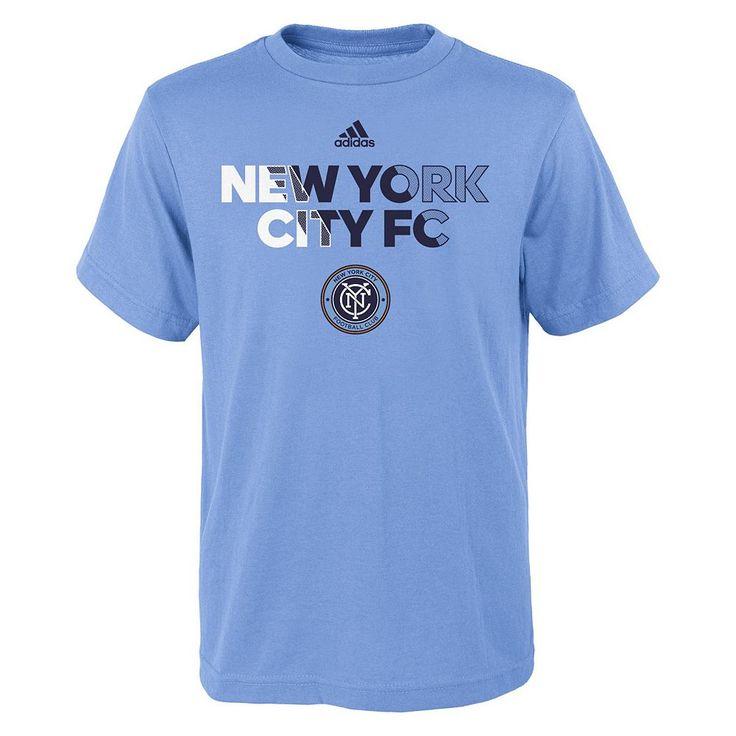 Boys 8-20 Adidas New York City FC Striker Tee, Size: Xl(18/20), Ovrfl Oth