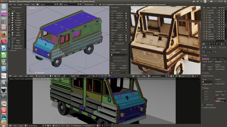 Blender3d based CAD/CAM complex for small business. Product of http://www.endemiki.ru