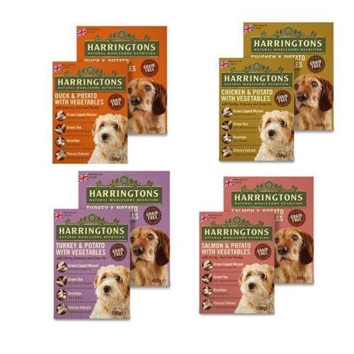 Harringtons Complete Wet Dog Food Bulk Multipacks Grain Free