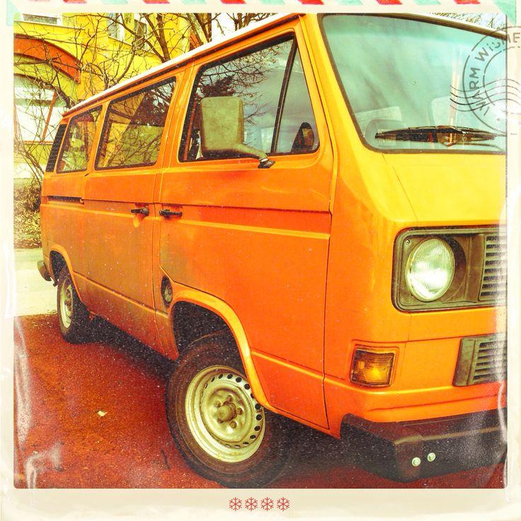 VW t3 orange rider