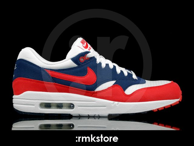 nike air max 1 mid navy action red neptune blue