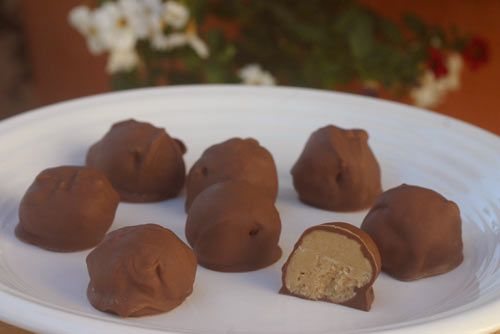 Peanut Butter Balls so far this is the best recipe I have found. I love them In the freezer or fridge