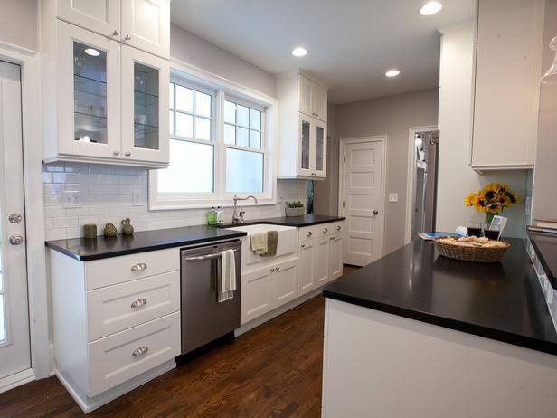 Best 25 open galley kitchen ideas on pinterest galley for Hgtv galley kitchen ideas