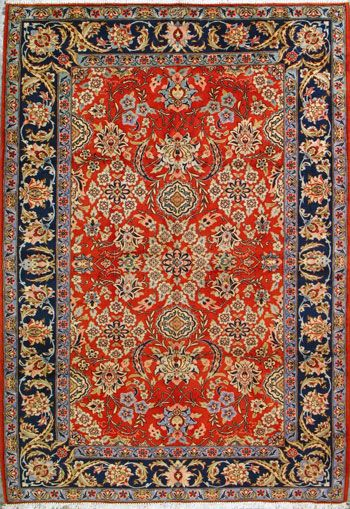 """Sarough Persian Rug, Buy Handmade Sarough Persian Rug 6' 9"""" x 10' 1"""", Authentic Persian Rug $2,057.00"""
