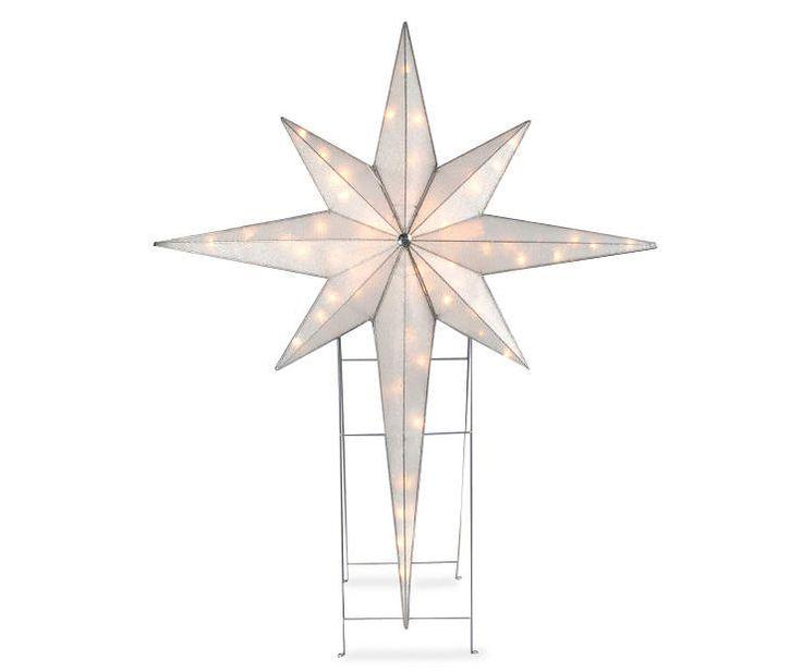 Star Of Bethlehem Light Outdoor 15 best christmas star images on pinterest christmas stars large pre lit star of bethlehem indoor outdoor holiday yard art nativity workwithnaturefo