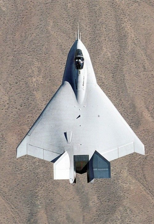 The Boeing X-32 competed to become the new JSF for USN, USMC &USAF. Lost the 'fly-off' to the XF-35.