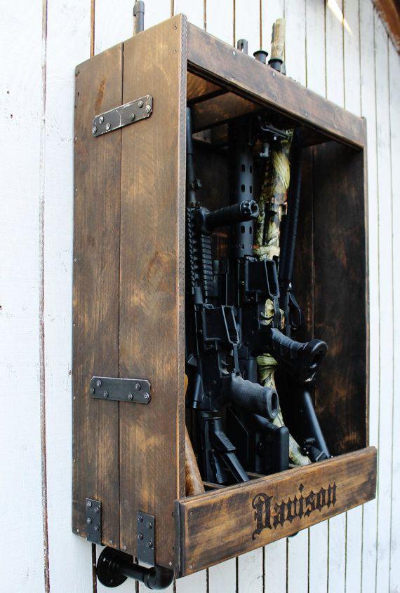 25 Best Ideas About Gun Racks On Pinterest Gun Storage