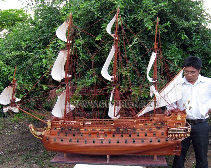 Model Ship San Felipe Extra Large
