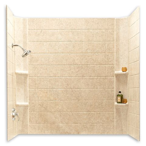 Tub And Shower Walls From American Standard Are Easy To Install And  Maintain. Choose From Elegant Tile Looks With Easy Care, Or Smooth Durable  Acrylic ...