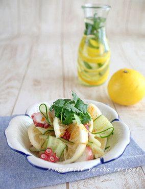 人気のパクチー料理☆ニューサマーオレンジのアジアンサラダ レシピブログ