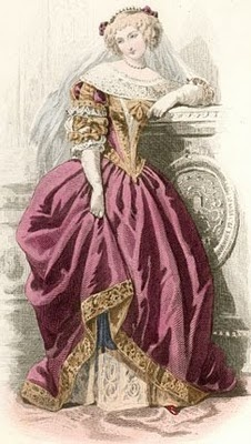 Women's Fashion 17th Century