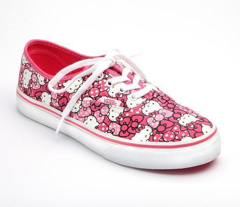 VANS x Hello Kitty Adult Women's Authentic: Hot Pink