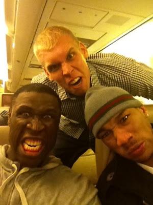 Hilarious: Mickael Pietrus, Greg Stiemsma, and Avery Bradley get their game faces on  via Pietrus Twitter