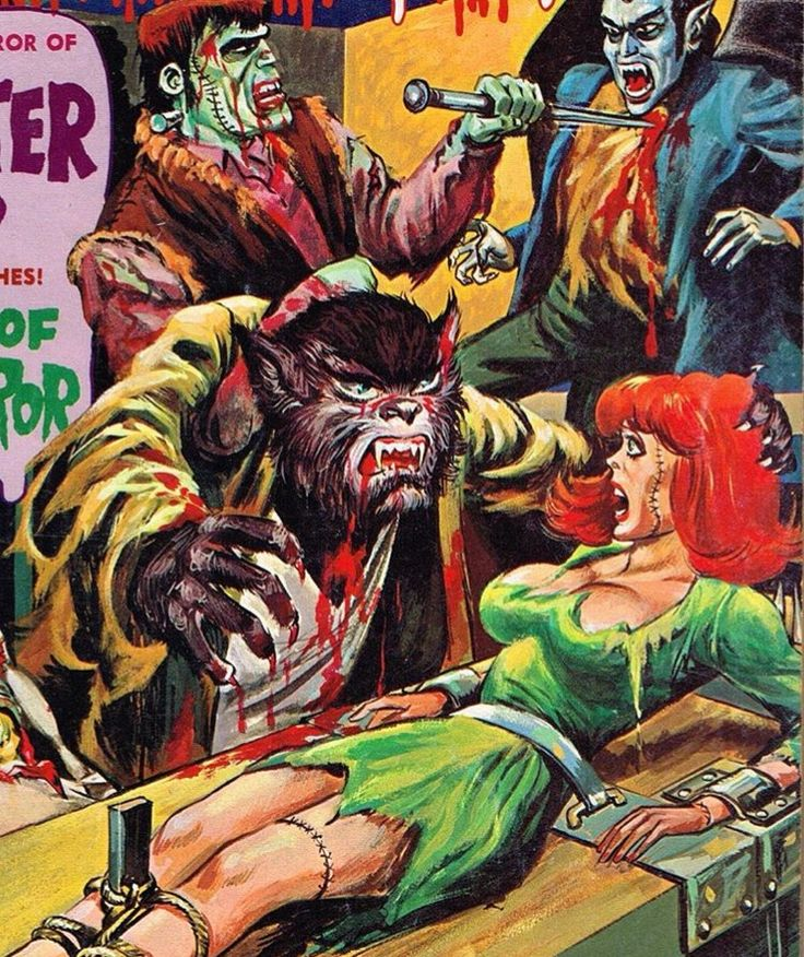 Pin By Scary Larry Williams On Monstrous Magazines