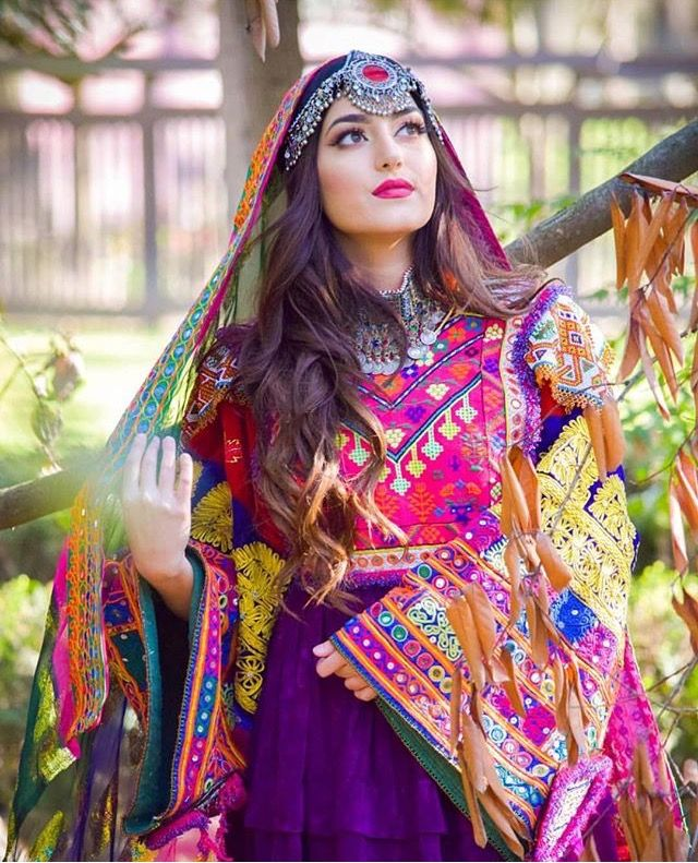 Afghan Wedding Gowns: Afghan Clothes In 2019