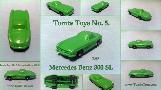 Tomte Toys No.5. Mercedes Benz 300 SL 1:43
