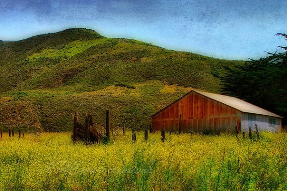 Country Landscape Barn Landscape Photography Rustic