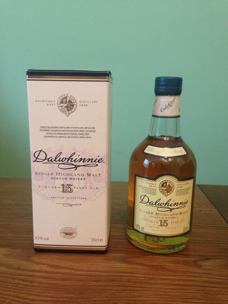 Dalwhinnie - Aged 15 Years - Single Malt