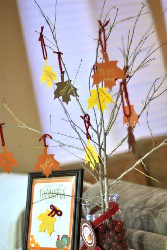 Fun activity with kids - what are we thankful for?