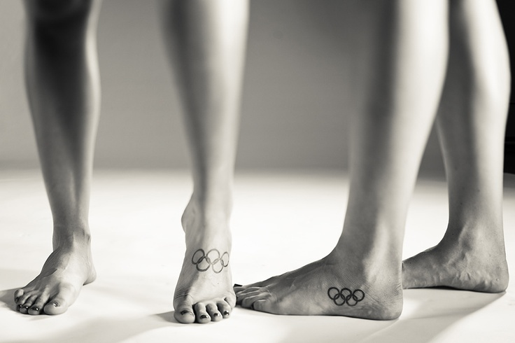 I've already got my Olympic tattoo planned. I can almost guarantee these ladies are boat pairs.