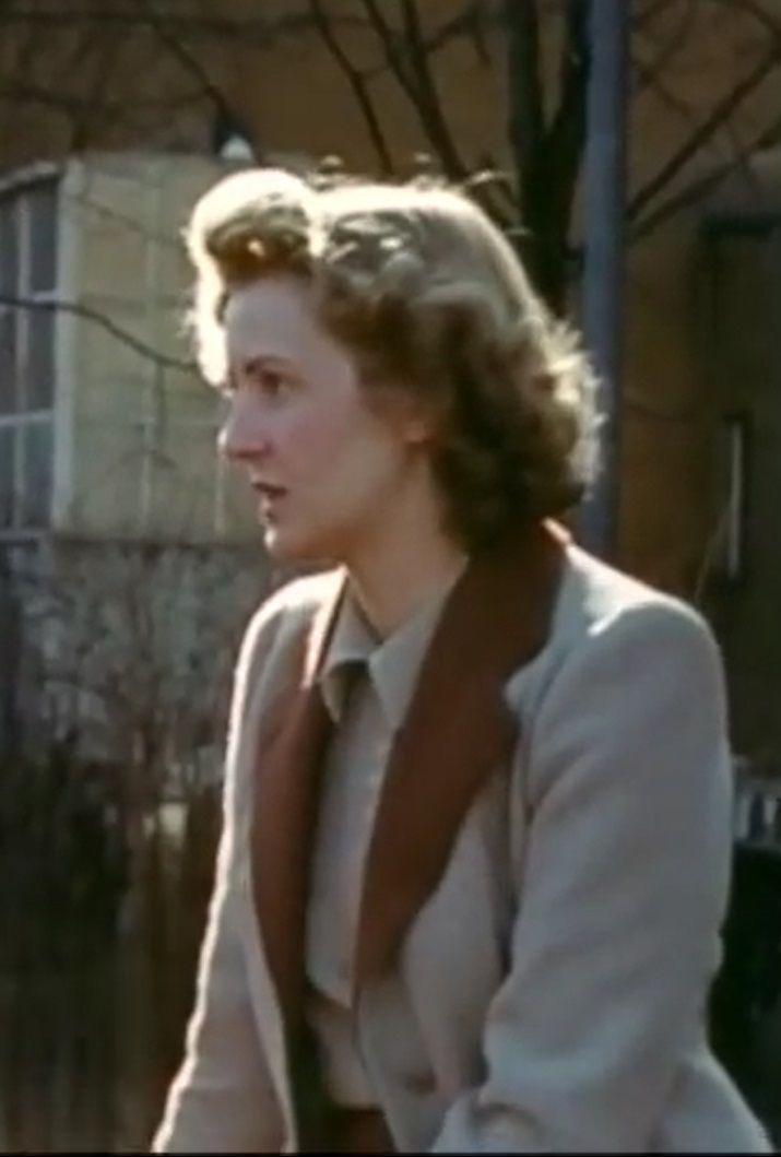 Eva Braun in profile, this is November 2, 1941 or Nov 2, '42.