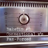 BakeTip Conventional v's Fan-Forced Oven Settings If a recipe doesn't specify what oven setting to use it is most like to be the 'conventional' setting where both the top and bottom oven elements are on with no fan. If you want to use your fan-forced setting (when the fan at the back of the oven evenly distributes the heat from the element that surrounds it) as a rule of thumb, you will need to drop your oven temperature by 20 degrees.