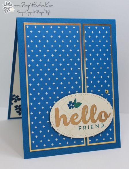 Stampin' Up! Hello Friend for the Happy Inkin' Thursday Blog Hop – Stamp With Amy K