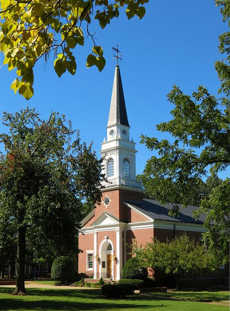 I have fond memories of taking trumpet lessons at Lambuth University, a small, beautiful and picturesque campus in west Tennessee. (pictured is Womack Memorial Chapel). Sadly, the school shut down in 2011 and the campus is now a branch of the University of Memphis.