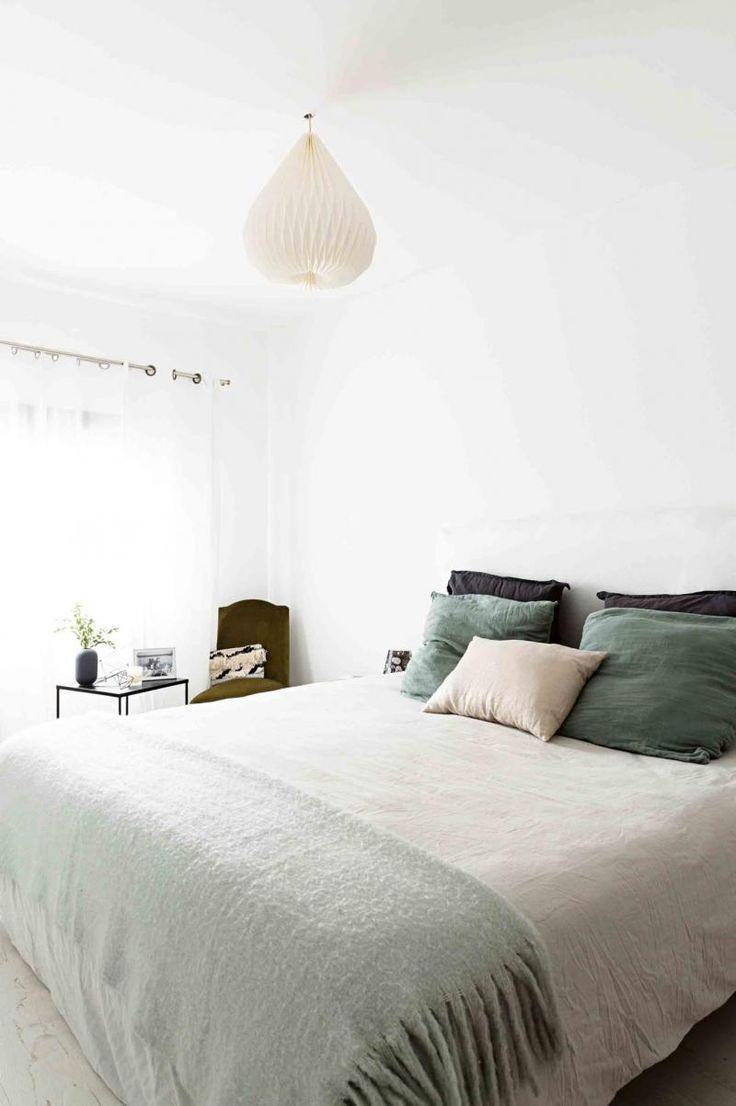 soft color palette for a bedroom teal