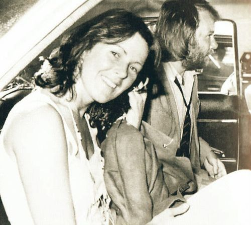 Abba's Benny Andersson was engaged to Anni-Frid Lyngstad also from Abba for about nine years. They married in October 1978 but divorced in 1981.