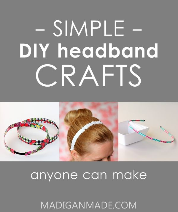 17 Simple and Easy Headband Crafts