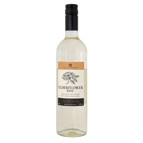 Elderflower wine is a traditional dry wine with a delicate floral aroma and flavour. It makes a perfect picnic or lunchtime wine and is an ideal aperitif.  http://www.english-heritageshop.org.uk/food-drink/drink/english-heritage-elderflower-wine-75cl