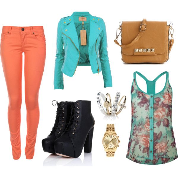 U0026quot;School outfitu0026quot; by princessfluffs on Polyvore   OOTDu0026#39;s   Pinterest   Polyvore Outfits and ...
