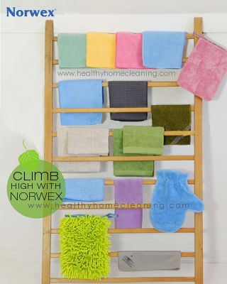 Norwex cleaning cloths rack, to dry and display I will never use any other cloths or cleaning products! Streak free baby!