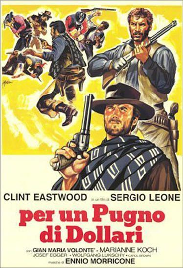 "I love the ""spaghetti western""— no one did them better than sergio leone!!"