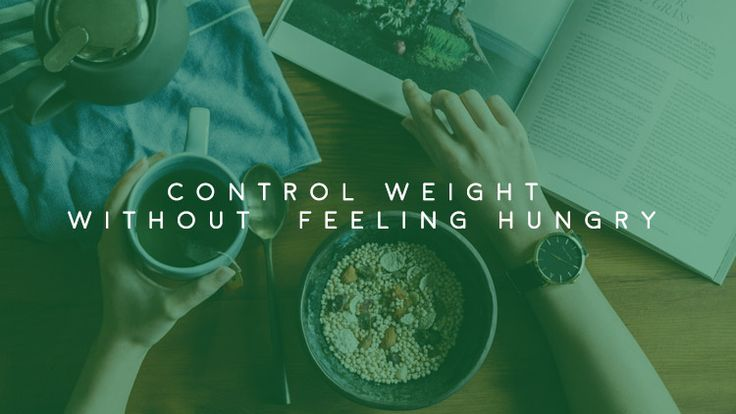 Control your appetite to lose weight | Olivier Health Tips