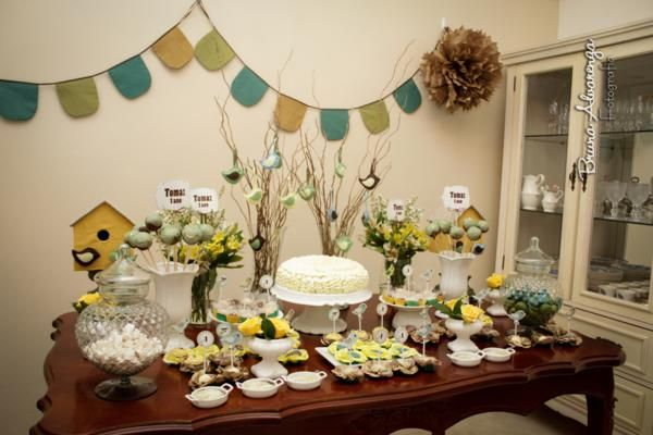 Little bird baby shower