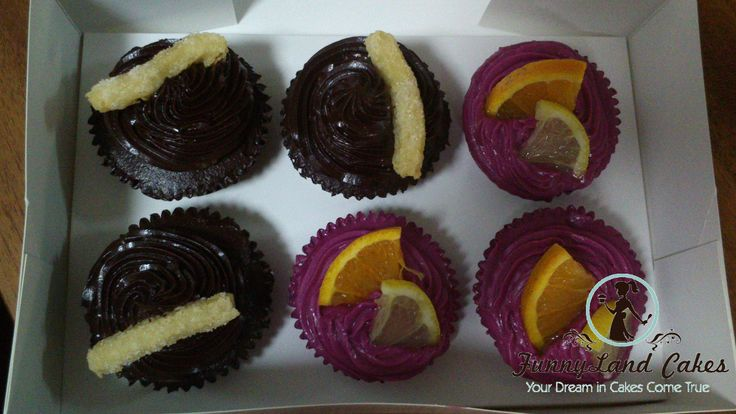 Chocolate with Churros and Sangria Cupcakes