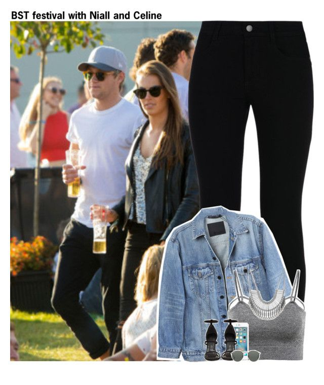 """""""BST festival with Niall and Celine"""" by lovetini6412 ❤ liked on Polyvore featuring STELLA McCARTNEY, Y/Project, Lucky Brand and Ray-Ban"""