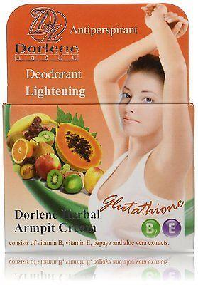GLUTATHIONE, Armpit Underarm WHITENING Lightening Cream