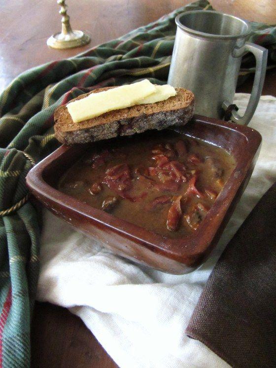 HET VUUR VAN DE HERFST - Diana Gabaldon - Engelstalige website - recept voor stoofpotje met ree of rundsvlees
