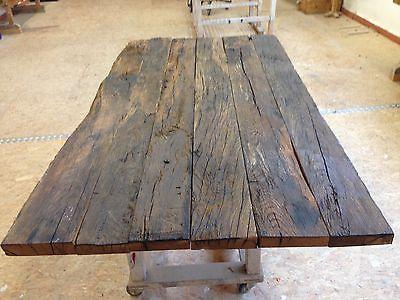 altholztisch tisch altholz alte eiche rustikal massiv esstisch industriedesign 2 eur 499 00. Black Bedroom Furniture Sets. Home Design Ideas